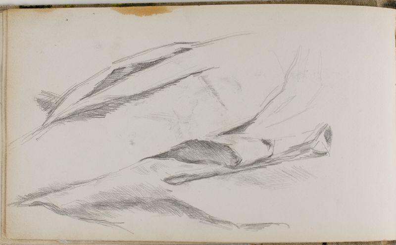 Etude de draperie, 1881–84 (3006-21b)