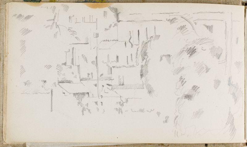 Maisons et viaduc à l'Estaque, 1879–82 (3006-05b)