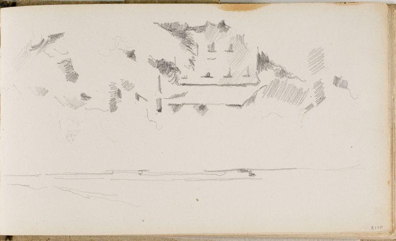 Paysage et homme à quatre pattes, 1877; 1881–84 (3006-14a)
