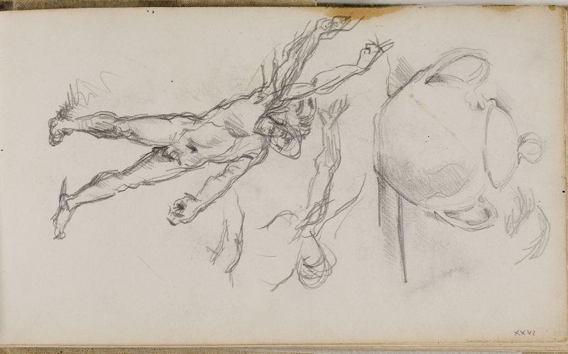 Etude de baigneurs, 1874–77 (3006-26a)