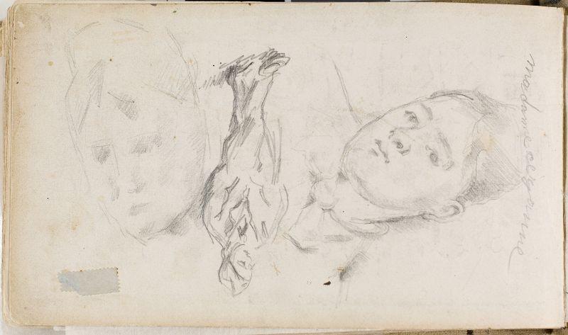 Madame Cezanne et homme debout, 1877–80 (3006-50b)
