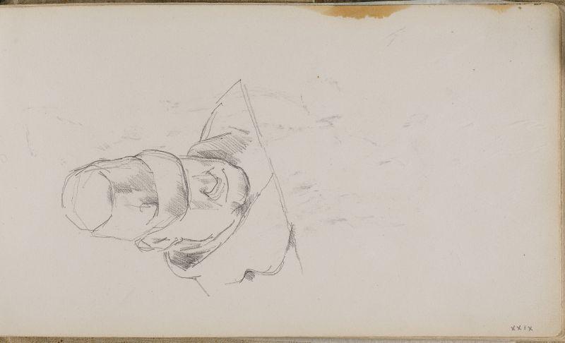 Tête et épaules du père de l'artiste, 1877–80 (3006-29a)