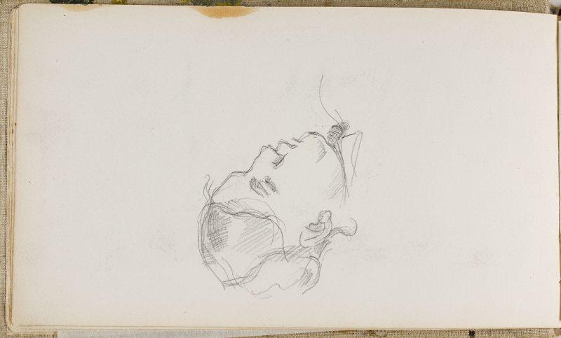 Tête de madame Cezanne, 1880–81 (3006-06b)