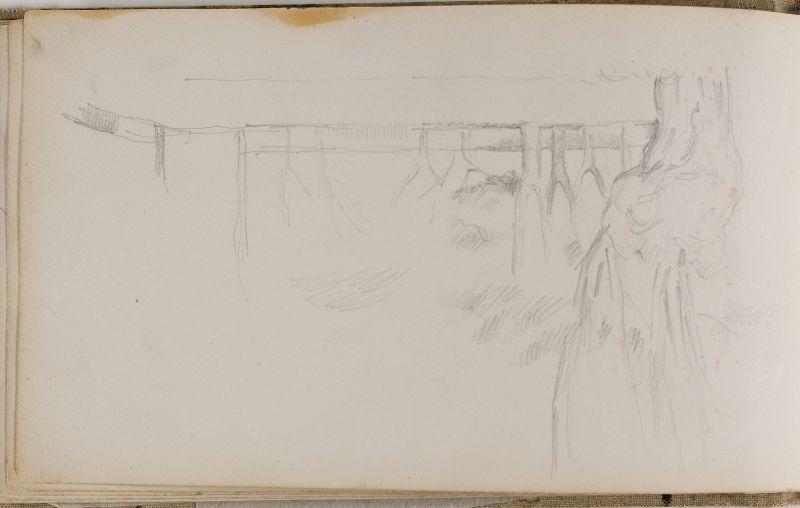 Paysage avec arbres, 1877–80 (3006-20b)