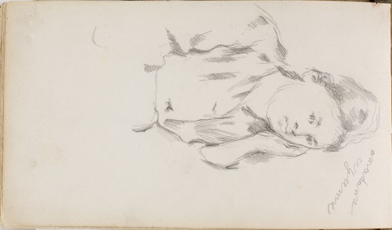 Portrait de madame Cezanne, 1876–79 (3006-49b)