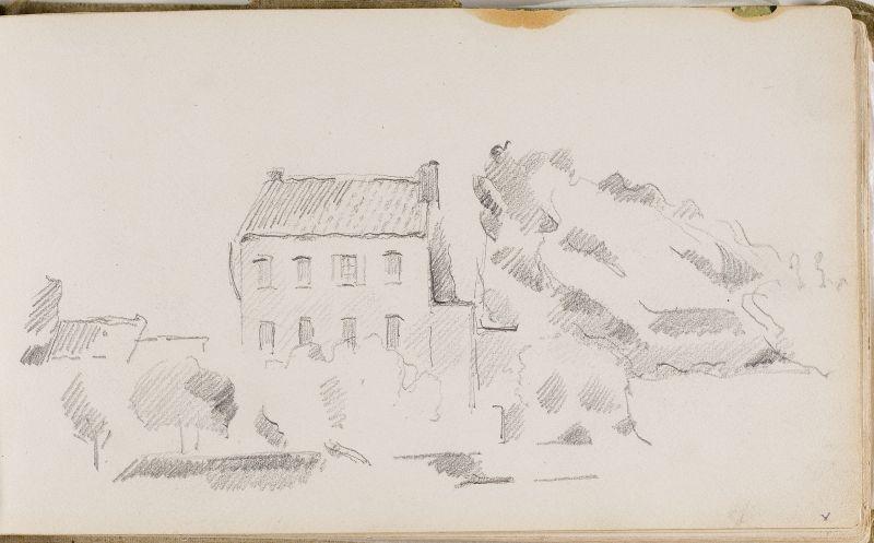 Maison avec arbres, 1876–79 (3006-05a)