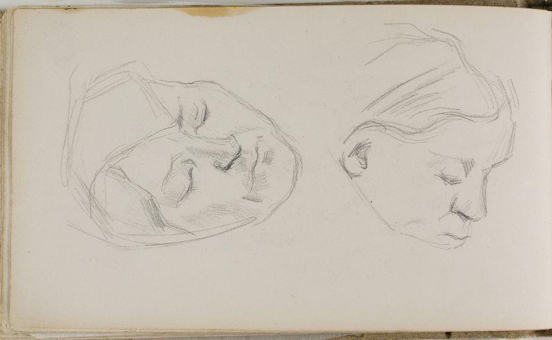 Deux têtes, 1877–80 (3006-35b)