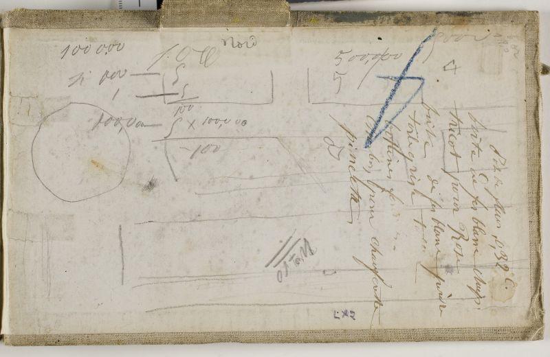 Notes et chiffres, n.d. (3006-51)