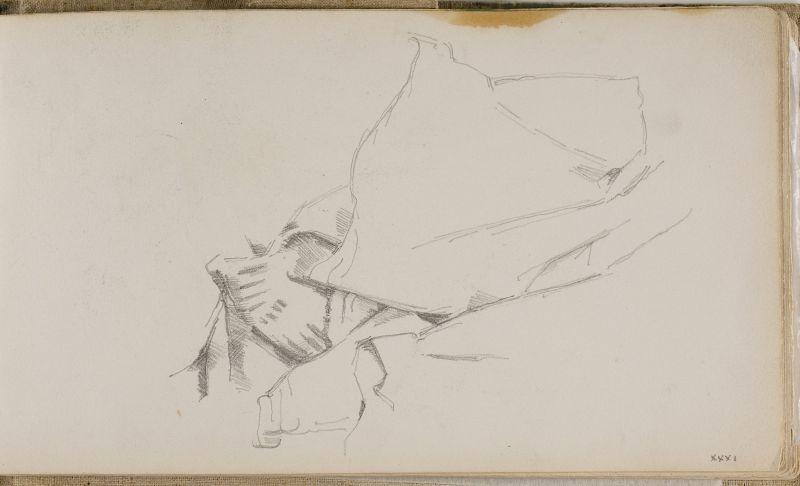 Étude de draperie, 1877–80 (3006-31a)
