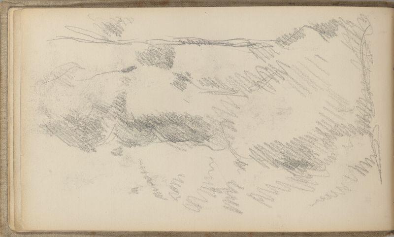 Esquisse de paysage, 1875–78 (3009-10b)
