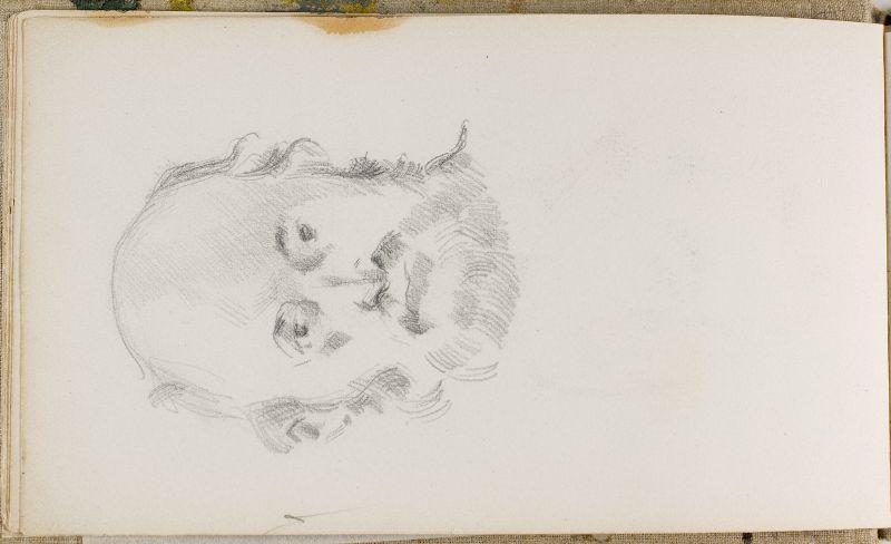 Autoportrait, c.1883 (3006-07b)