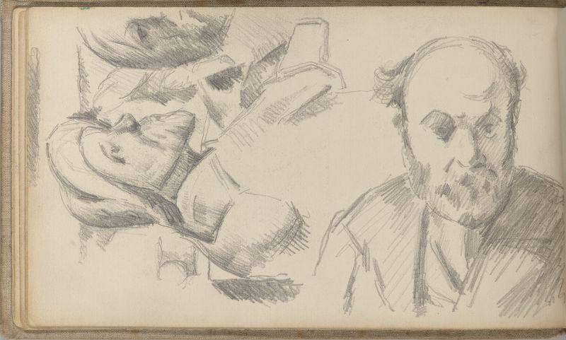 Autoportrait et bustes, 1882–85 (3009-13b)