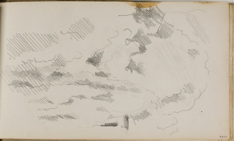 Etude d'arbres et de feuillage, 1879–82 (3006-18a)