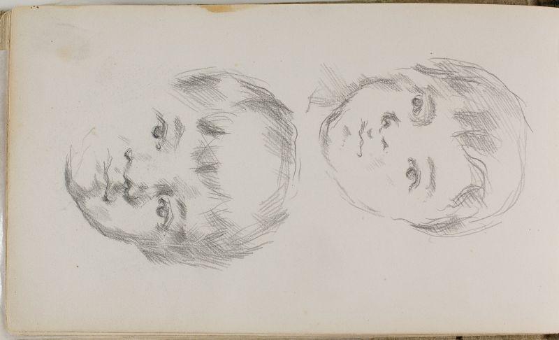Deux portraits du fils de l'artiste, 1881–84 (3006-39b)