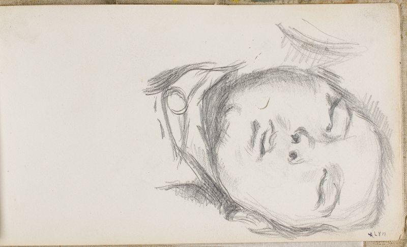 Le Fils de l'artiste endormi, 1883–84 (3006-47a)
