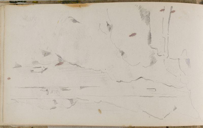 Côte rocheuse près de l'Estaque, 1874–77 (3006-17b)